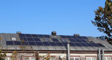 10 kW solar power plant on private house roof, Lithuania4-min