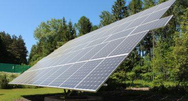 15 kW solar tracking system in Vilkija, Lithuania4-min