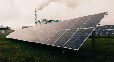 400 kW solar power plant on ground of Lietuvos Kepėjas Bakery, Lithuania5-min