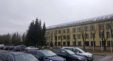 50 kW solar power plant on Telšiai police station roof, Lithuania1-min